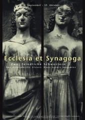 Ecclesia und Synagoga Plakat 1999