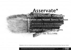 Plakat Asservate