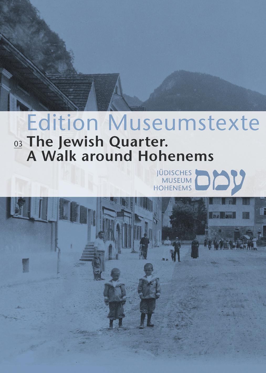 1 Publikation The Jewish Quarter Cover