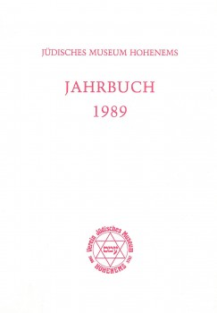 Publikation Jahrbuch 1989 Cover