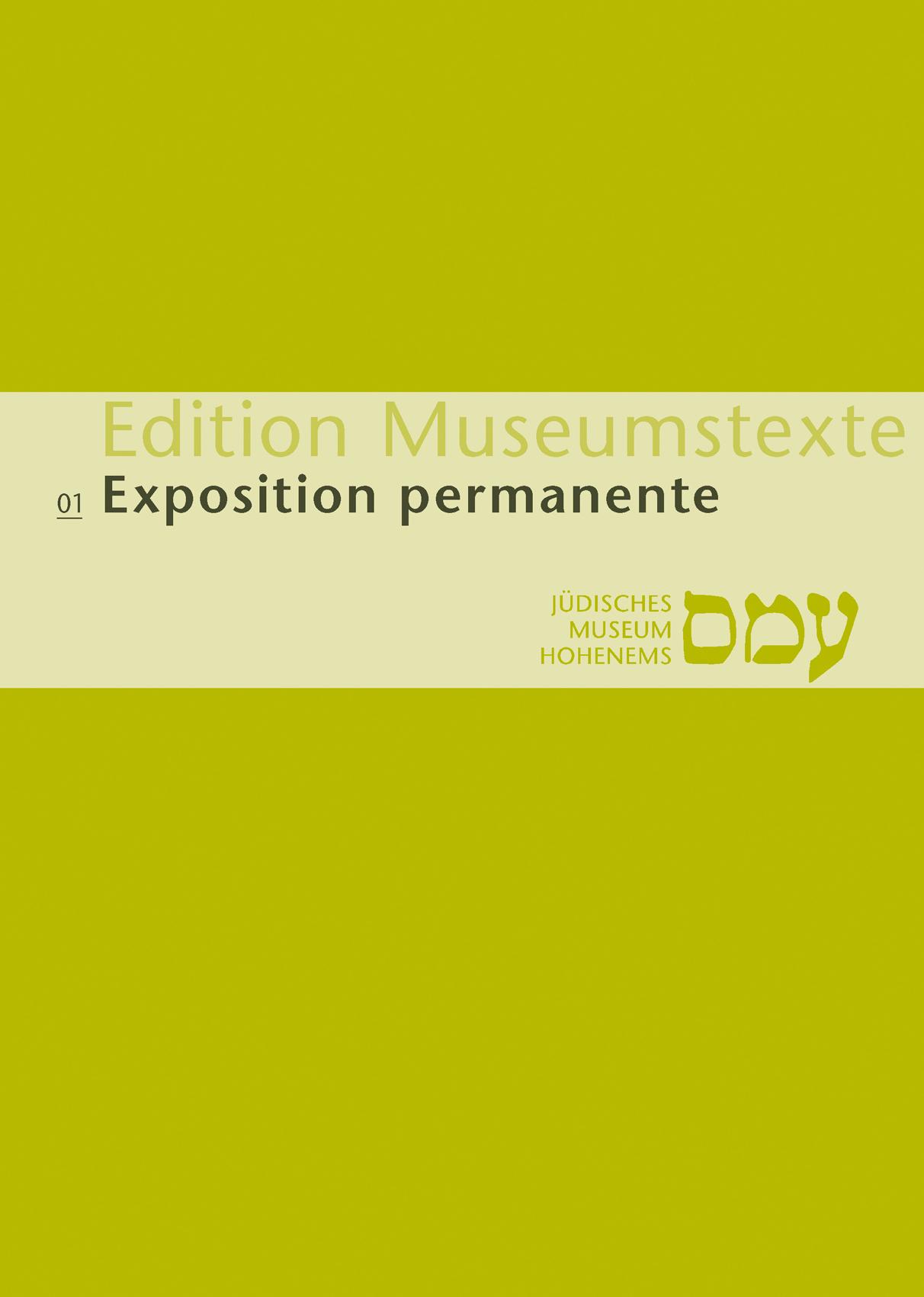Publikation Exposition permanente