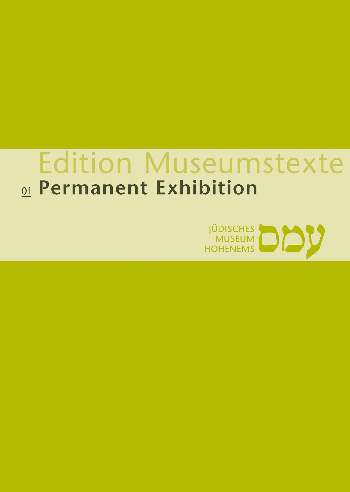 Publikation Permanent exhibition